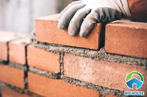 1m2 tường bao nhiêu viên gạch? Công thức tính vật liệu chuẩn nhất