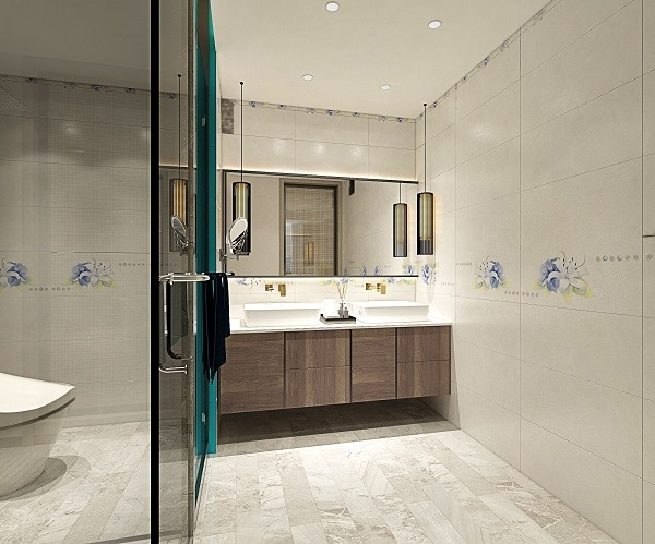 bộ gạch ốp nhà vệ sinh ý mỹ c36015