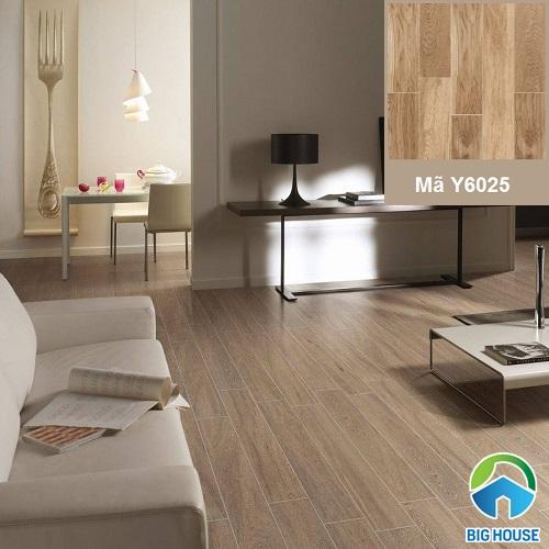 Mẫu gạch Ceramic Ý Mỹ giả gỗ Y6025