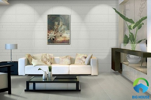 gạch ốp tường phòng khách ý mỹ 1