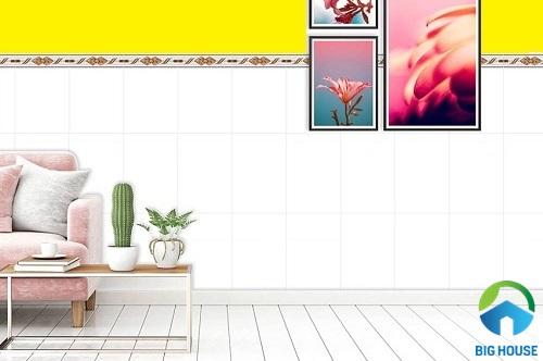 gạch ốp tường phòng khách ý mỹ 4