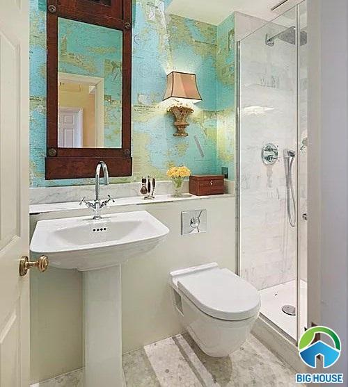 thiết kế nhà vệ sinh 1m2
