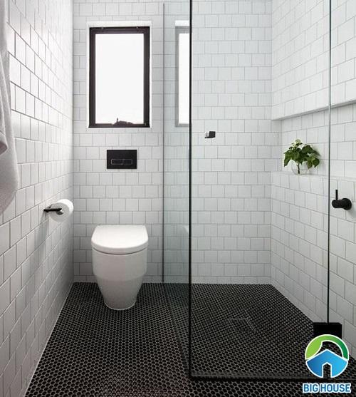thiết kế nhà vệ sinh 2m2