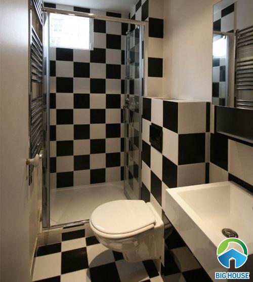 phòng tắm nhỏ 1m2