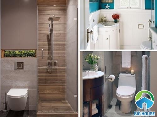 5 TIPS hô biến nhà vệ sinh 1m2, 2m2 siêu nhỏ mà tiện nghi bất ngờ