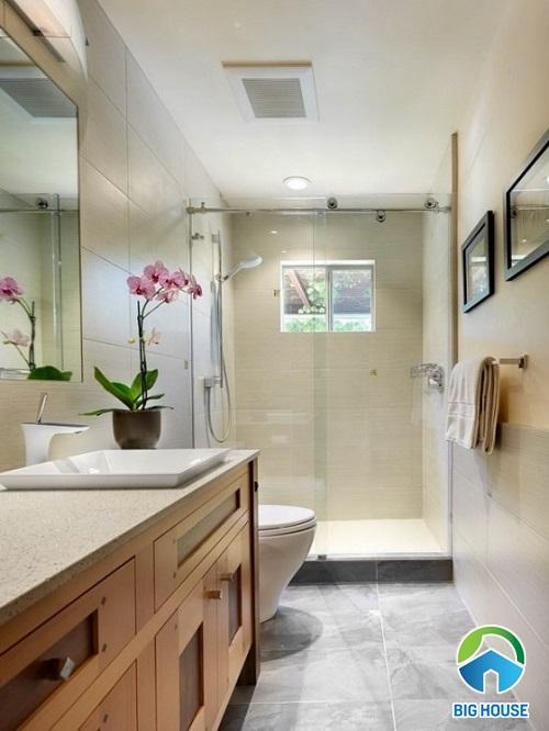 10+ Ý tưởng thiết kế nhà vệ sinh đẹp cho nhà ống gây sốt năm 2019