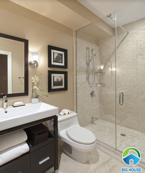 mẫu nhà vệ sinh cho nhà ống