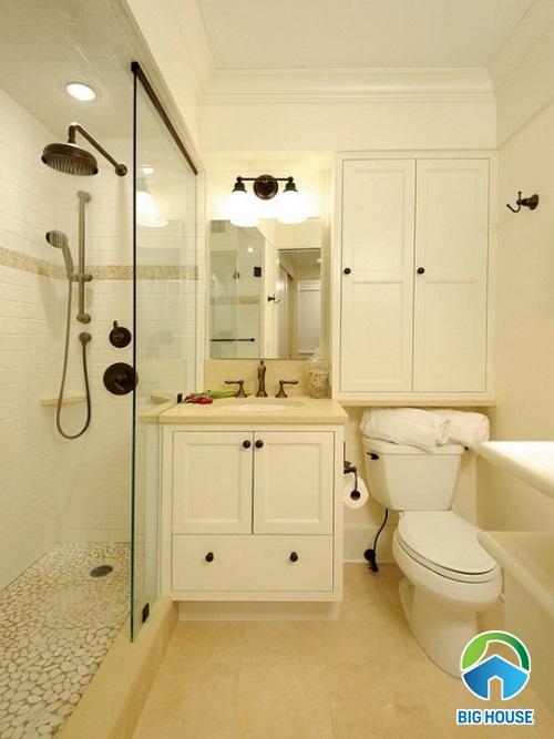 mẫu nhà vệ sinh đẹp cho nhà ống