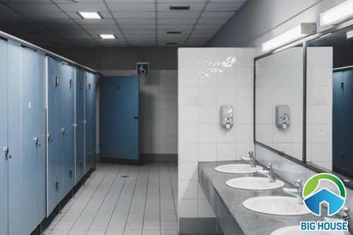 Thiết kế nhà vệ sinh cho trường học
