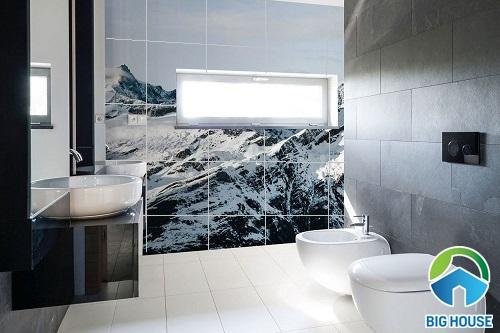 Tổng hợp các mẫu gạch ốp tường nhà vệ sinh 3D ấn tượng nhất 2020