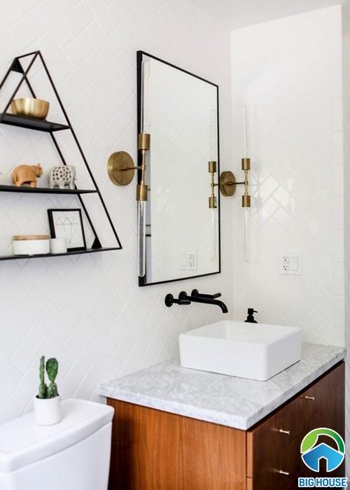 nhà vệ sinh nhỏ gọn