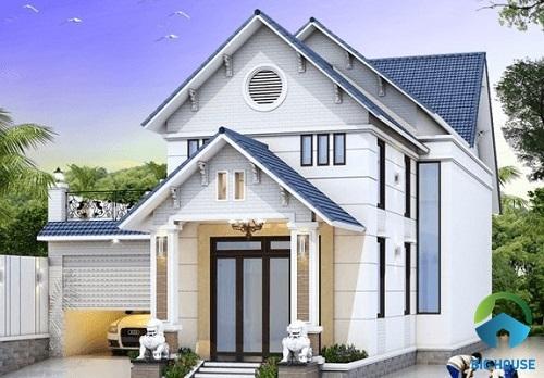 Các mẫu nhà gác lửng mái Thái đẹp dẫn đầu xu hướng kiến trúc 2019