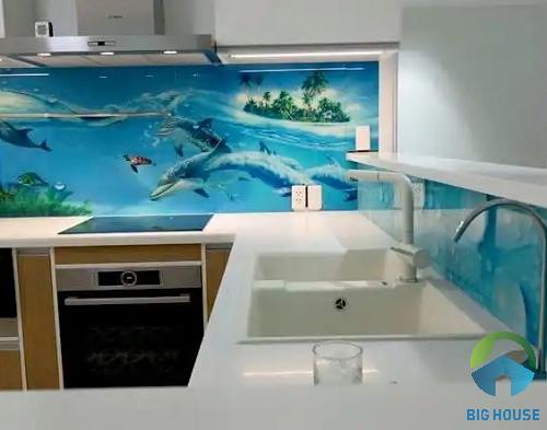gạch 3D ốp tường bếp 2