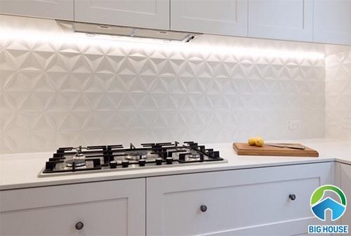 mẫu gạch ốp tường bếp hiệu ứng 3D