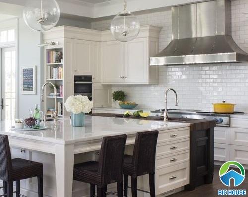 1001 Ý tưởng dùng gạch thẻ ốp bếp mang đến vẻ đẹp vượt thời gian
