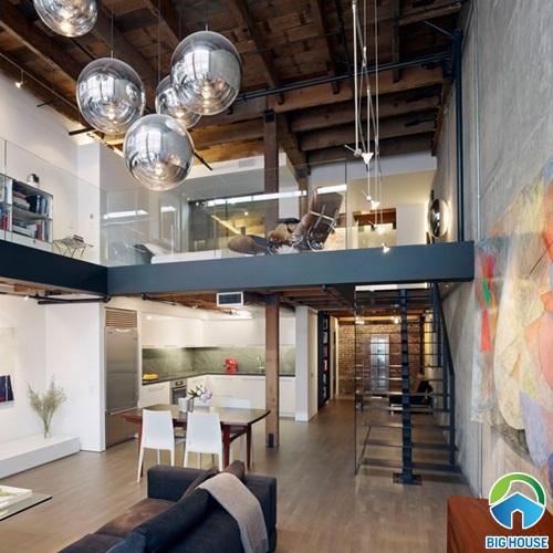 Xu hướng thiết kế kiểu nhà gác lửng hiện đại kèm các mẫu nhà đẹp