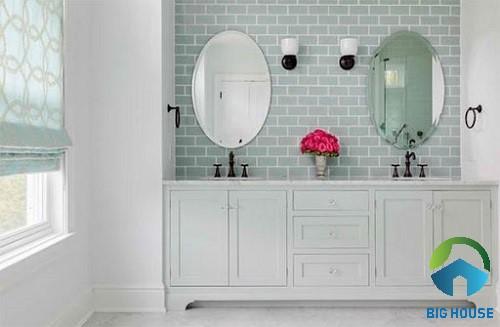 mẫu gạch trang trí nhà tắm 1
