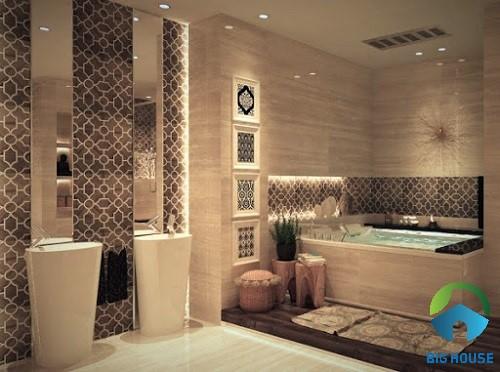 mẫu gạch trang trí nhà tắm 8