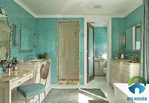 mẫu gạch trang trí nhà tắm