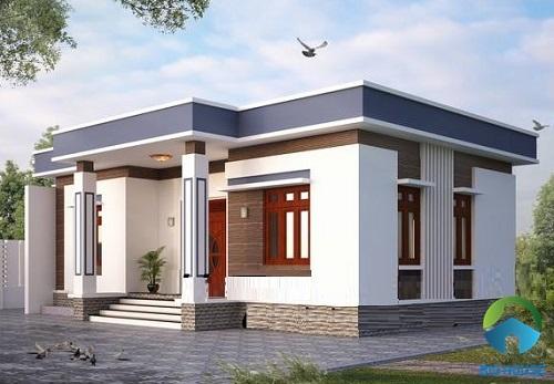 Tổng hợp các mẫu nhà gác lửng mái bằng đẹp và tiện nghi nhất 2020