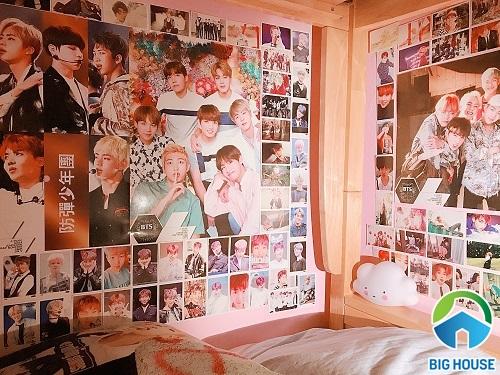 phòng ngủ của fan bts 1