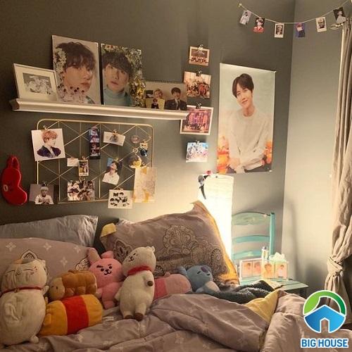 phòng ngủ của fan bts 15