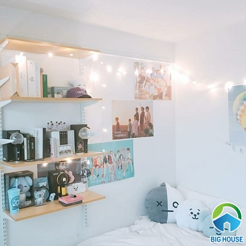 phòng ngủ của fan bts 17