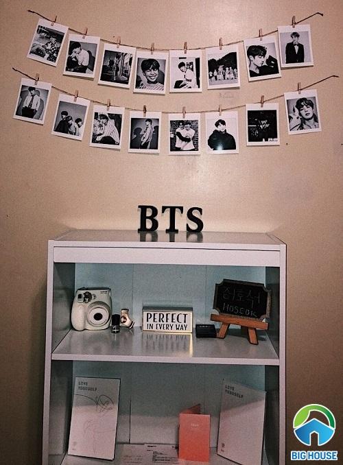 phòng ngủ của fan bts 18