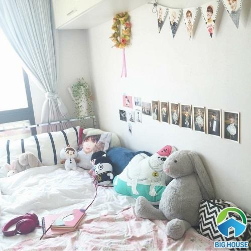 phòng ngủ của fan bts 22