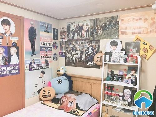 phòng ngủ của fan bts 23