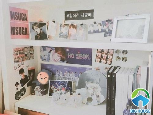 phòng ngủ của fan bts 8