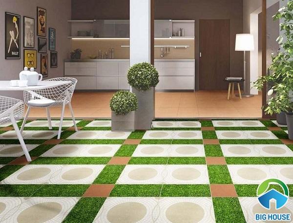 Top Mẫu gạch giả cỏ chống trơn được ưa chuộng nhất 2021