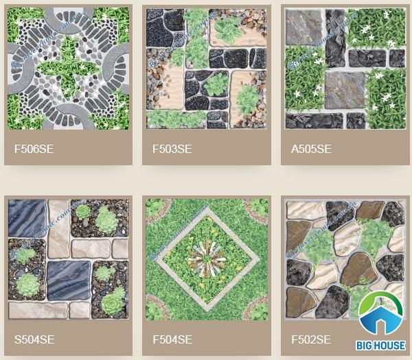 một số mẫu gạch cỏ ý mỹ được ưa chuộng nhất