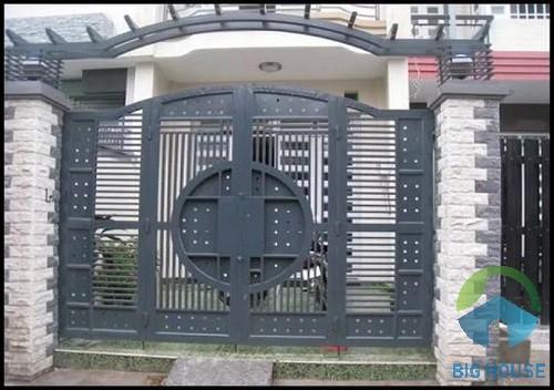 gạch ốp trụ cổng nhà 2