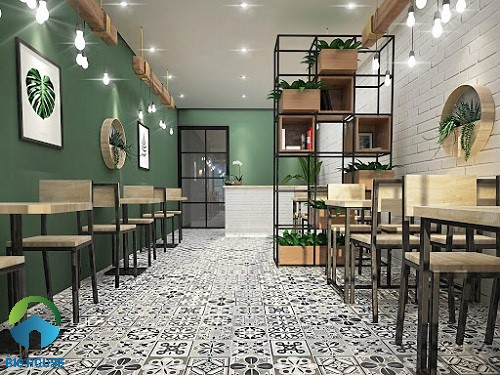 gạch lát quán cafe 7