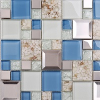 Mẫu gạch mosaic sang trọng, hiện đại