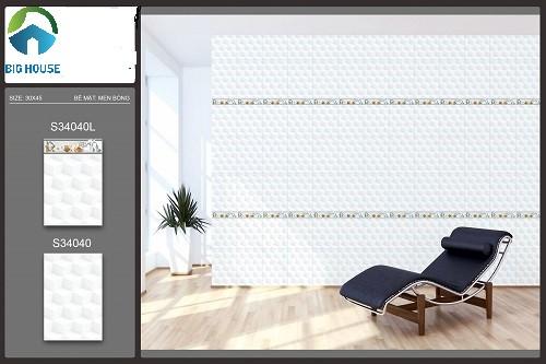 mẫu gạch ốp tường phòng khách ý mỹ 1