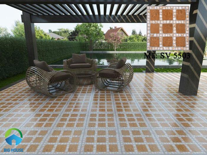 mẫu gạch lát sân nhà SV5503