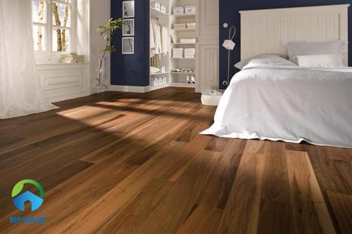 gạch lát phòng ngủ giả gỗ 2