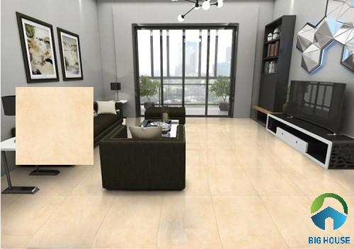 Gạch lát nền Ý Mỹ N65002H phù hợp cho phòng khách thiết đơn đơn giản