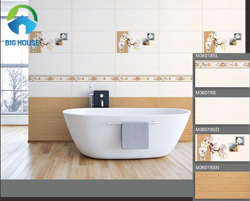 mẫu gạch ốp nhà tắm đẹp 1