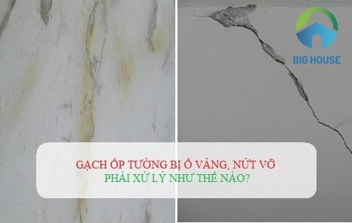 Gạch ốp tường bị ố vàng: Nguyên nhân và cách xử lý hiệu quả