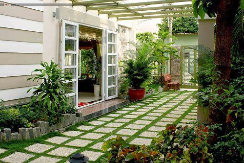 gạch sân vườn chống trơn 1