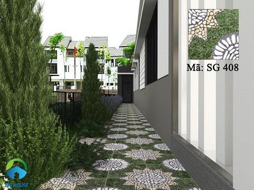 gạch sân vườn chống trơn 15