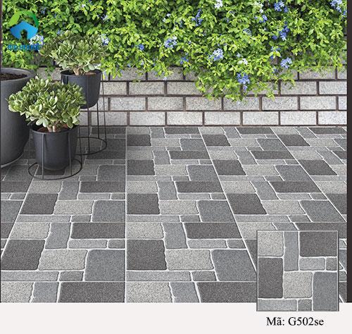 gạch sân vườn chống trơn 9