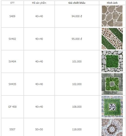 giá gạch lát sân vườn chống trơn