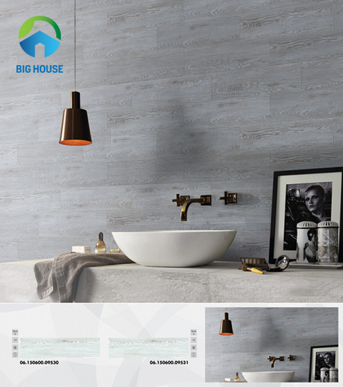 gạch ốp nhà tắm màu xám 5