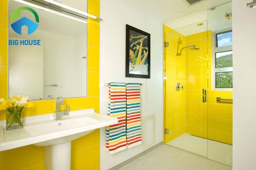 phối màu gạch ốp nhà tắm 12