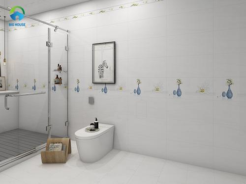 phối màu gạch ốp nhà tắm 2