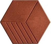 gạch lục giác lát vỉa hè 7